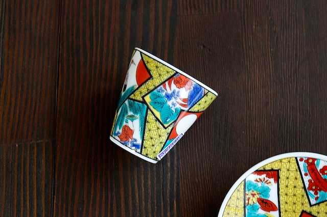 【SP3K20-08】『九谷縁起ちょこコレクション』『花かるた〈HANAKARUTA〉』 かわいい縁起ちょこ 縁起物 コレクション 小物入れ ギフト 九谷焼