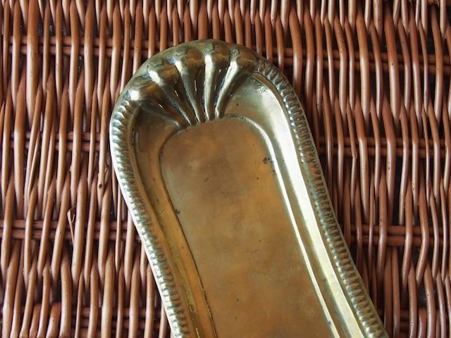 イギリスアンティーク 真鍮トレイ