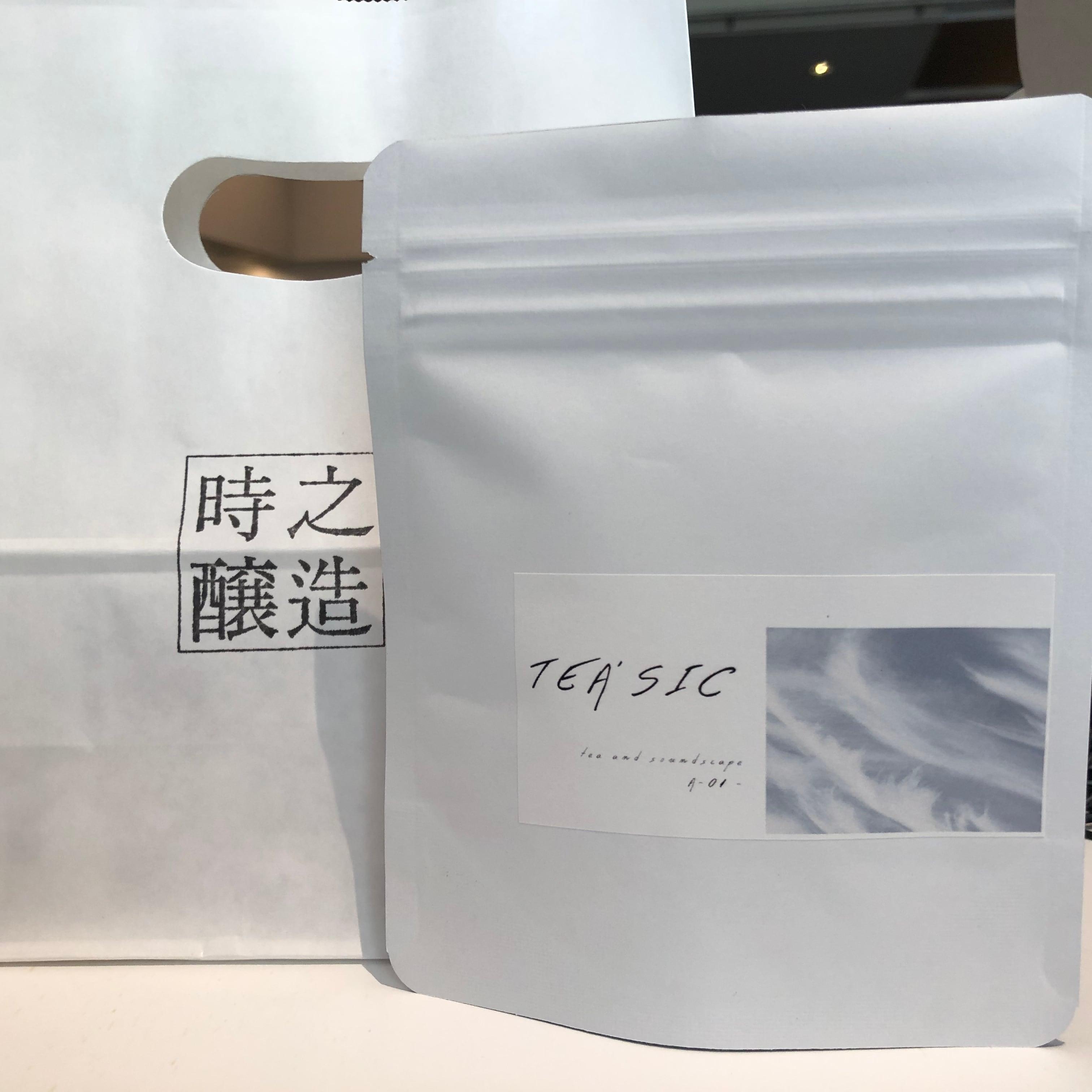 【5pc入り】味わいの音楽付き日本茶 TEA'SIC A-01