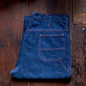 1960-70s BiG MAC Denim Carpenter Pants / ビッグマック ペインター パンツ オレンジステッチ