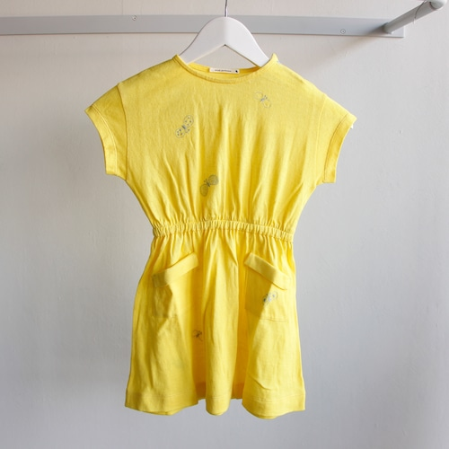 《mina perhonen 2018SS》choucho ワンピース / yellow