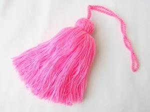 wool big tassel (TS001PK)