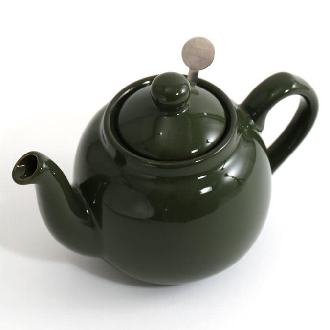 ティーポット 2カップ 550ml グリーン