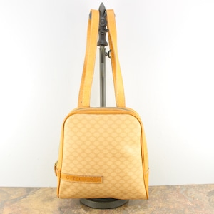 OLD CELINE MACADAM PATTERNED RUCK SUCK MADE IN ITALY/オールドセリーヌマカダム柄リュックサック