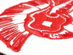 刺繍ワッペン イクサ魔法学院 火の寮グルクリー