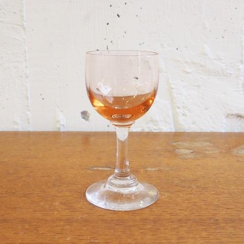 桃色のミニグラス