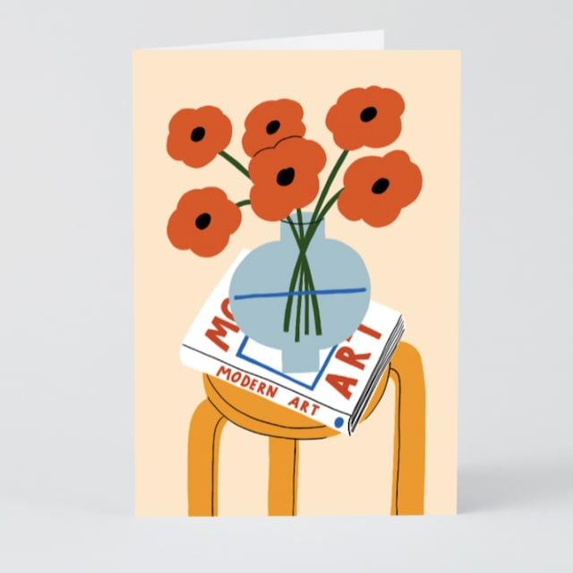 WRAP / Still Life  ART CARD -Artwork by Karl-Joel Larsson-