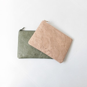 RIM.ARK(リムアーク) Paper like pouch 2021春夏物新作