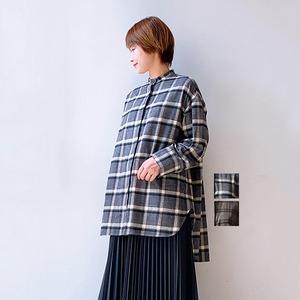 FLORENT(フローレント) PLAID BLOUSE 2021秋冬新作 [送料無料]