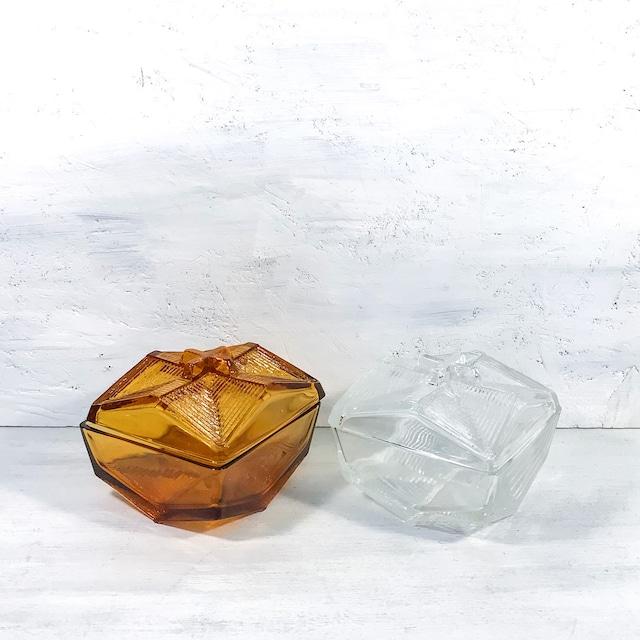 【F-3】ガラスキャンディーポット各種