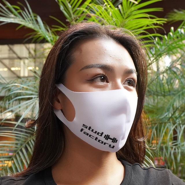 LADIES dry fit mask (WHITE)
