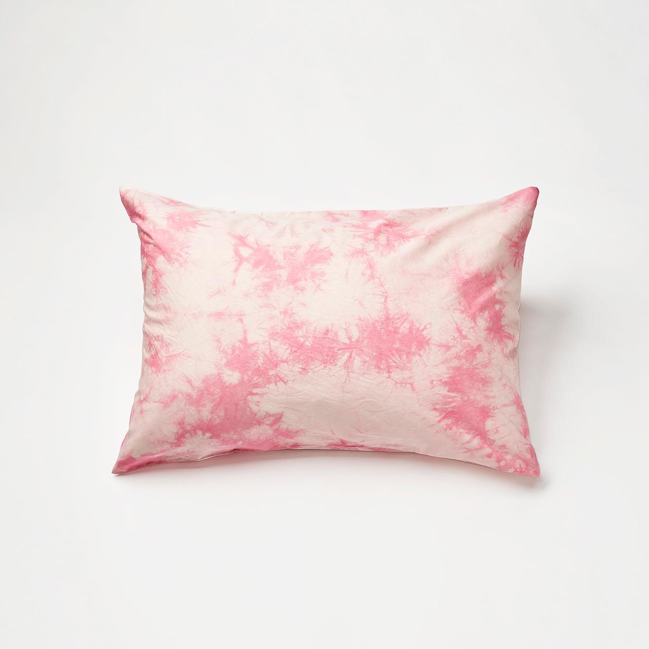 肌触りの良いピローケース(ピンク)封筒式 45×90cm