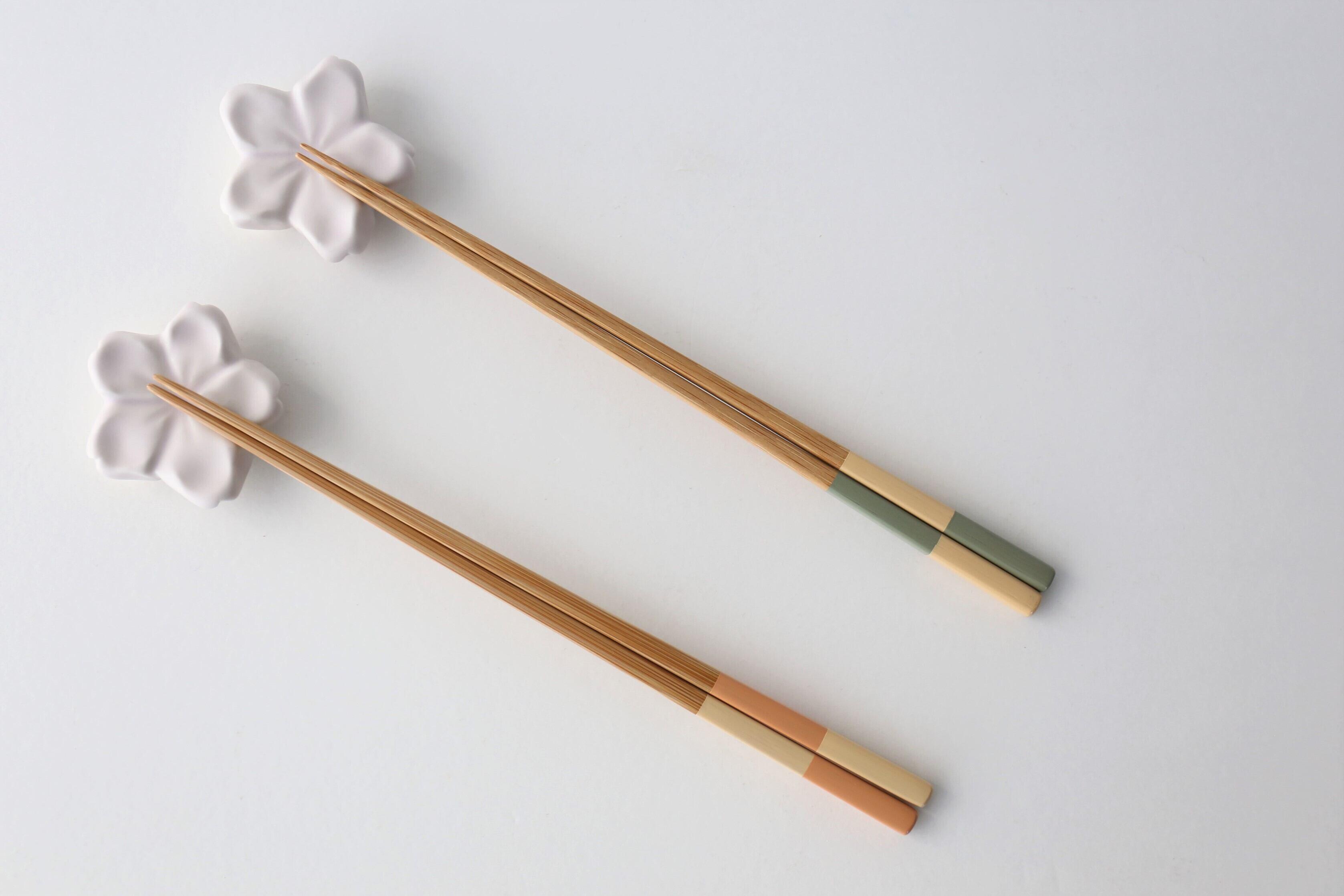 けはれ竹工房 自然塗料箸 いちまつ (3種)