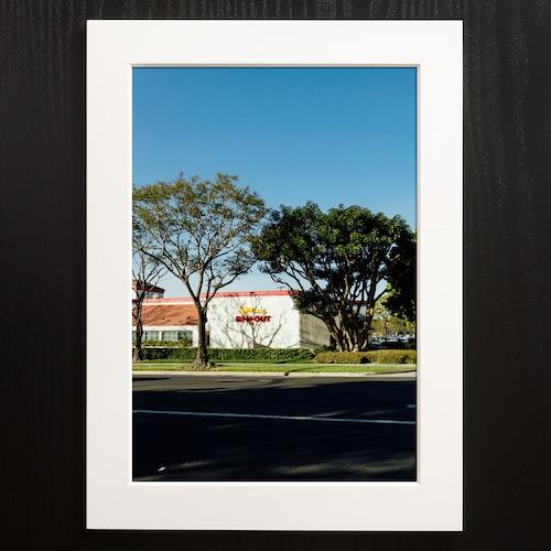 A4+α Size Paper frame「Sunset Roadside」