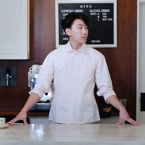 Work shirt  [ Pale Pink ]