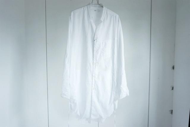 ASKYY / Long robe coat / WHT