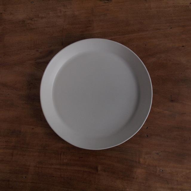 坂上のり子|丸皿 縁立
