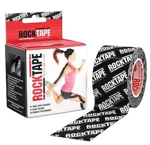 ロックテープ-スタンダード-ブラックロゴ / ROCKTAPE 5cm*5m  standard Black/White Logo