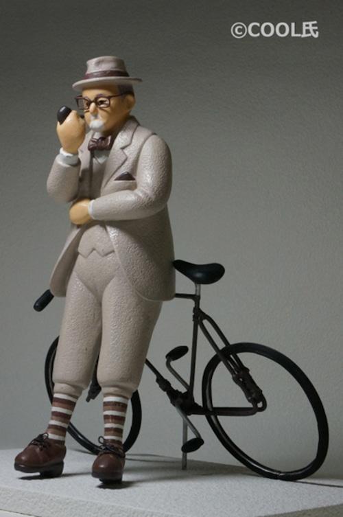 COOL氏 NO.18「パイプを燻らすブラウン氏」CYCLEシリーズ