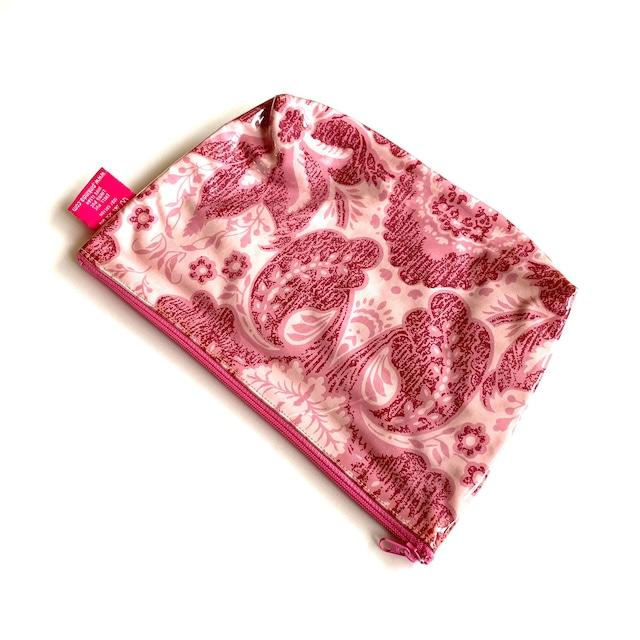 北欧デザイン PVCポーチ | Lサイズ | medalion pink