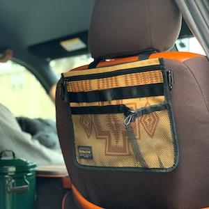 ペンドルトン 3wayサコッシュ クルマのヘッドレスト装着・肩掛け・チェア装着【FD-camp 別注品】