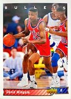NBAカード 92-93UPPERDECK Davis Wingate #303 BULLETS