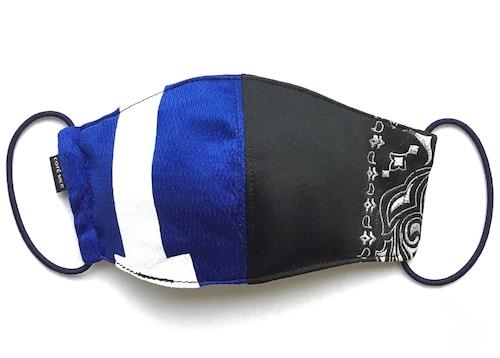 【デザイナーズマスク 吸水速乾COOLMAX使用 日本製】PAISLEY × SPORTS MIX MASK CTMR 0918047
