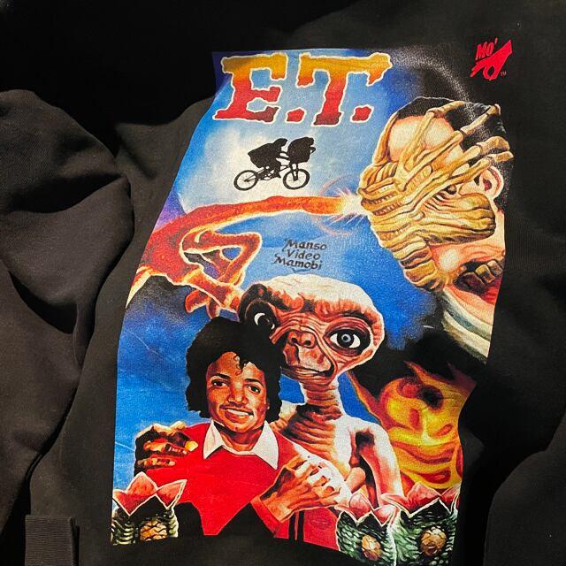 MO' E.T.? HOODED PARKA BLACK M