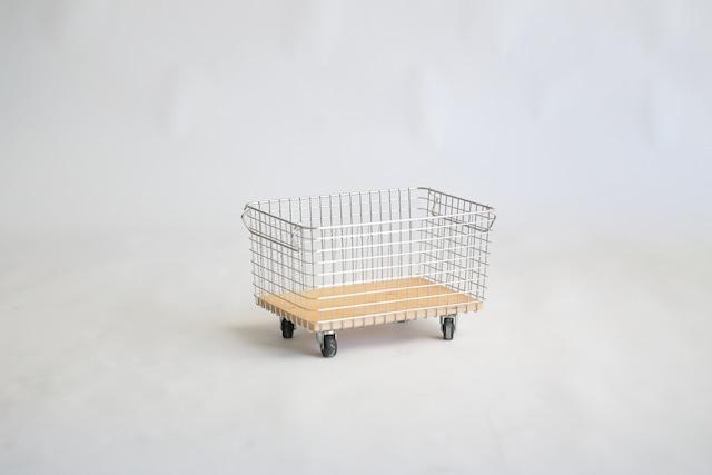 マガジンキャリー / 無印良品ワイヤーバスケットupcycle