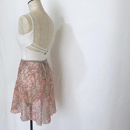 """◇""""Tatiana"""" Ballet Wrap Skirt - Avril・PINK [Sheer]( アブリル・ピンク [シアー])"""