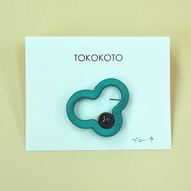 【TOKOKOTO】ブローチ