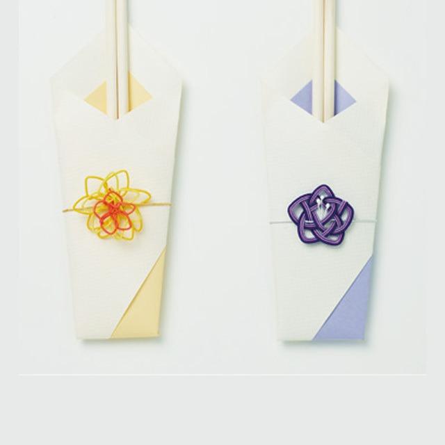 【東急プラザ銀座コラボ商品】牡丹・桔梗の祝い箸セット