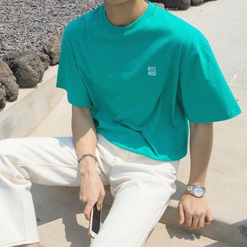 ワンポイントカラーTシャツ BL8767