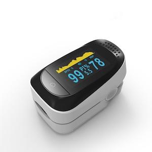 当日出荷OK!酸素濃度計パルスオキシメーター血中酸素濃度計心拍計脈拍軽量・コンパクト安心のみ製品ポータブル