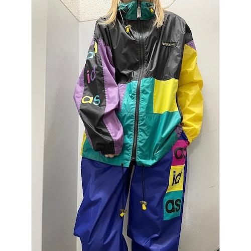 90's adidas ナイロンセットアップ