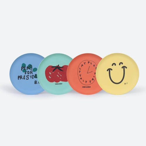 《BOBO CHOSES 2021SS》For President Pack Of Bamboo Plates