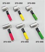 372053ステンシームローラーゴムグリップ 緑50φ×50mm