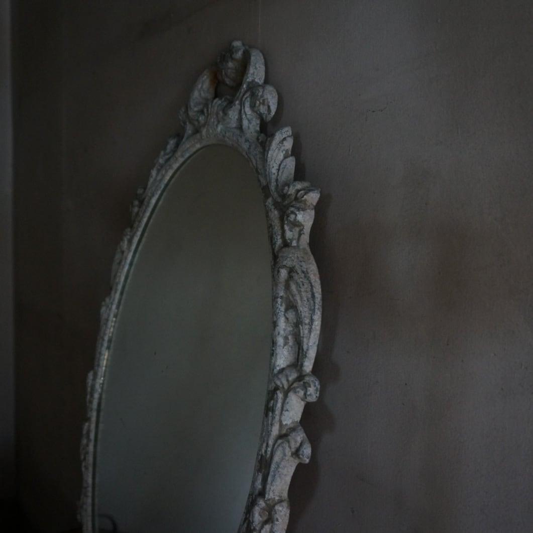 古いフランスの鏡