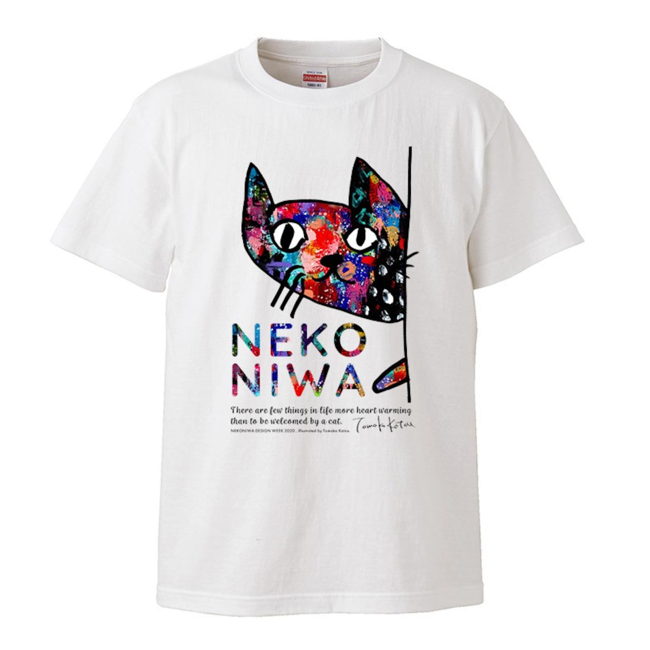 【メンタリストDaiGoさん】が着てくれてます!! 猫庭Tシャツ +TOMOKO KATOU model ■cosmic 送料無料‼