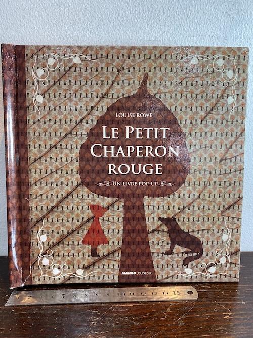 洋書しかけ絵本 LE PETIT CHAPERON ROUGE  UN LIVRE POP-UP