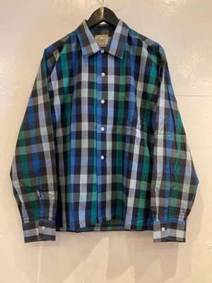 MANOR PRESS チェックシャツ