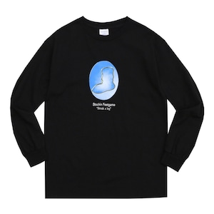 WHIMSY / YEAR BOOK L/S TEE -BLACK-