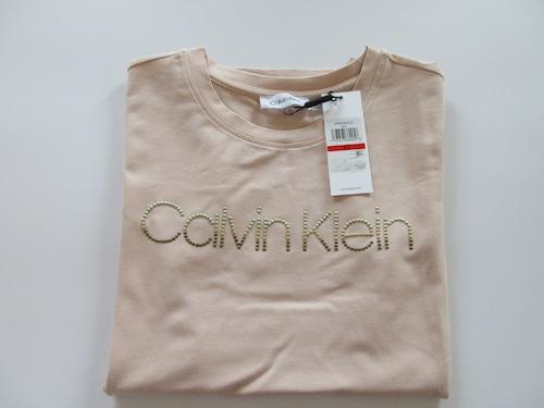 【カルバンクライン】CALVIN KLEIN Tシャツ グラデーションゴールド金具