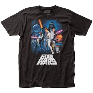 Tシャツ スター・ウォーズ 新たなる希望 ポスター柄