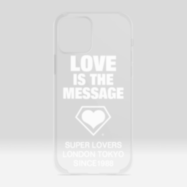SUPERLOVERS love is the message /スーパーラヴァーズ アイホンケース 12/12Pro