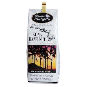 ヘーゼルナッツ(挽き済みの粉) ハワイアンアイルズ(7oz 198g) ハワイコナコーヒー フレーバーコーヒー