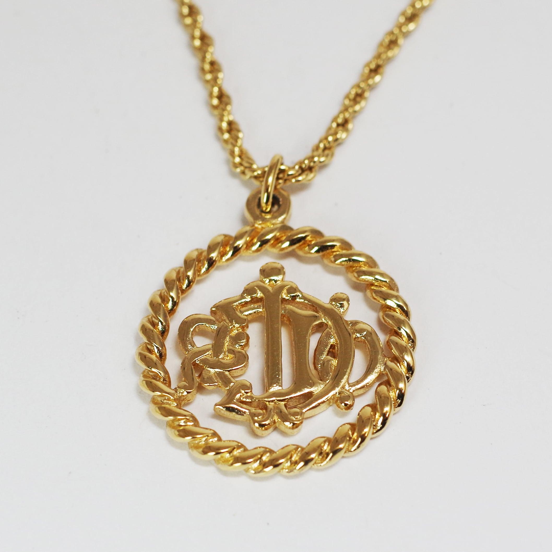 Christian Dior ディオール ネックレス ゴールド
