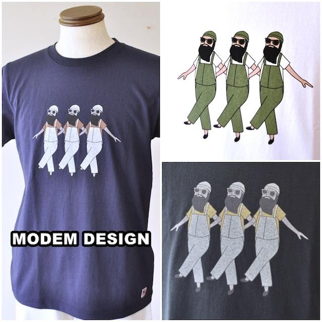 modemdesign モデムデザイン 半袖Tシャツ カットソー 2009054メンズ