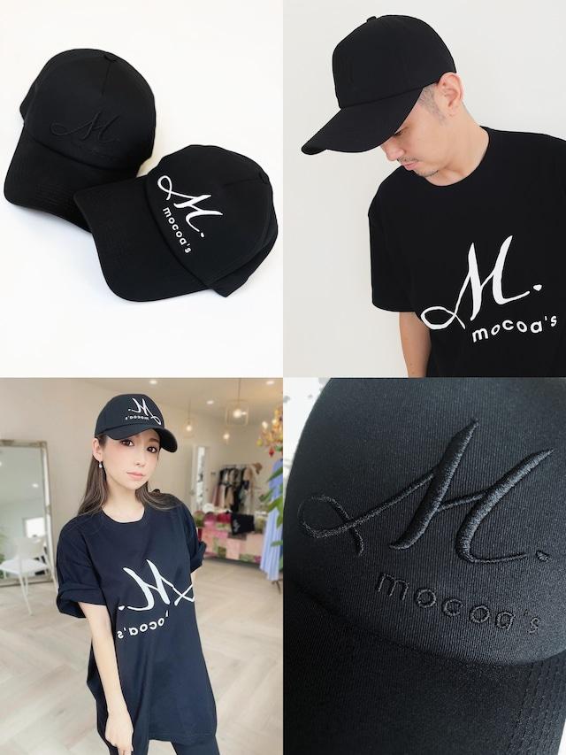 M.mocoa's CAP (ブラック)¥4,800+tax