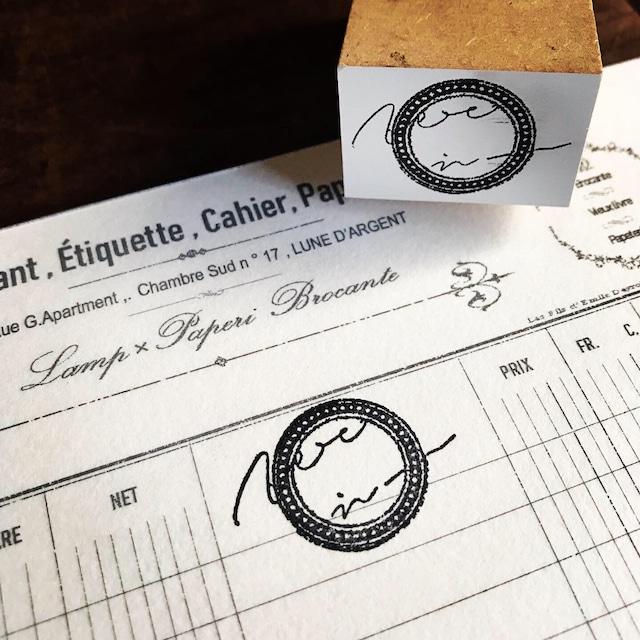 オリジナルスタンプ 手書き文字#4 company seal